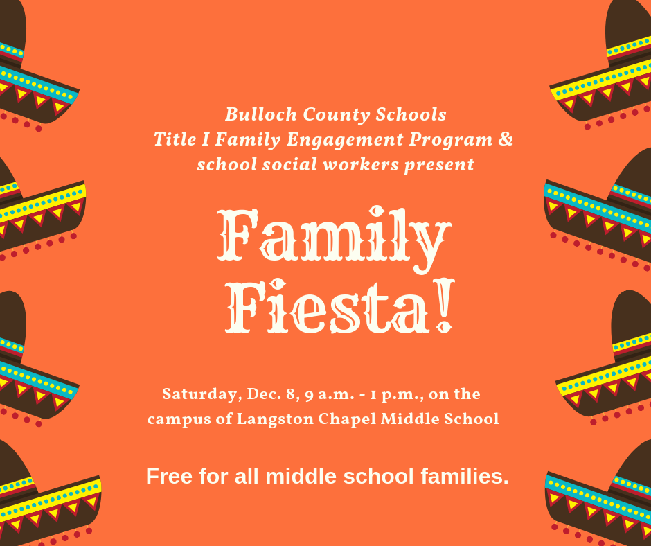 Family Fiesta event advertisement