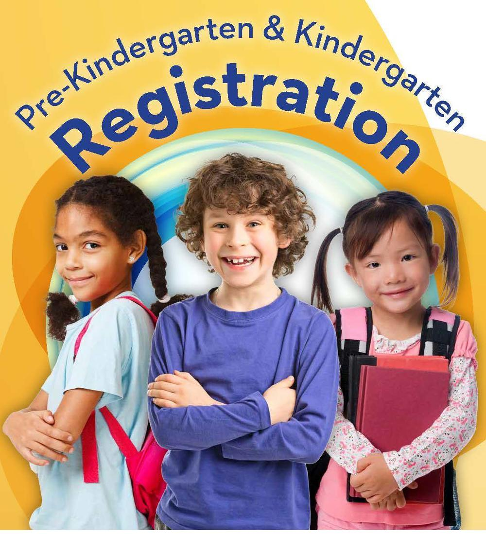 Prekindergarten and Kindergarten Registration