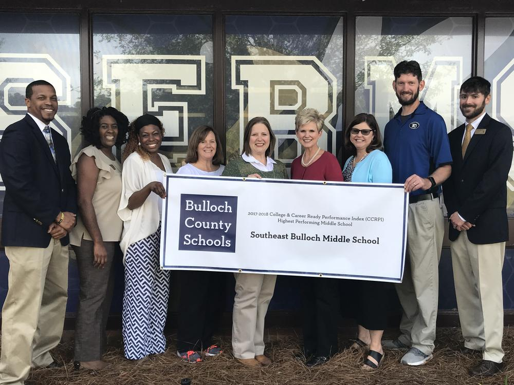 Southeast Bulloch Middle School Leadership Team