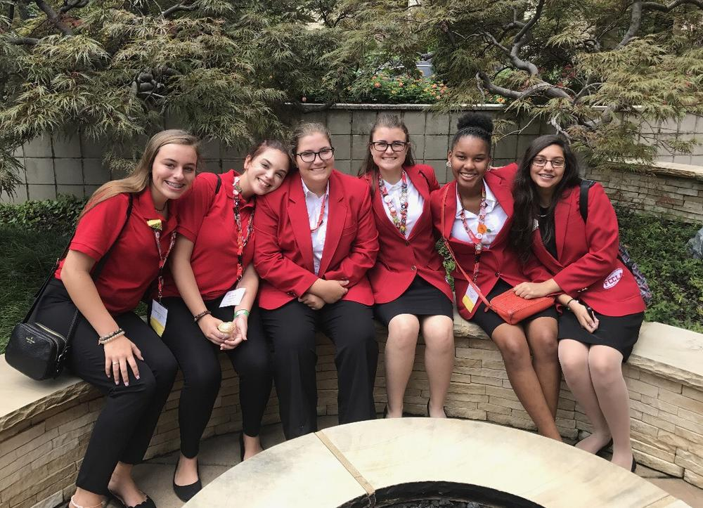 FCCLA Members at Nationals