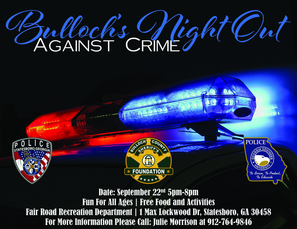 Bulloch Night Out Against Crime