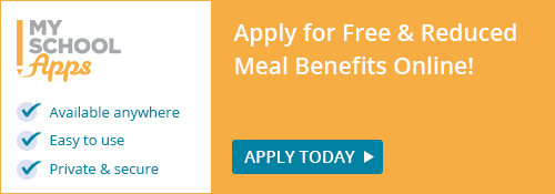 Free and reduced meal benefits logo