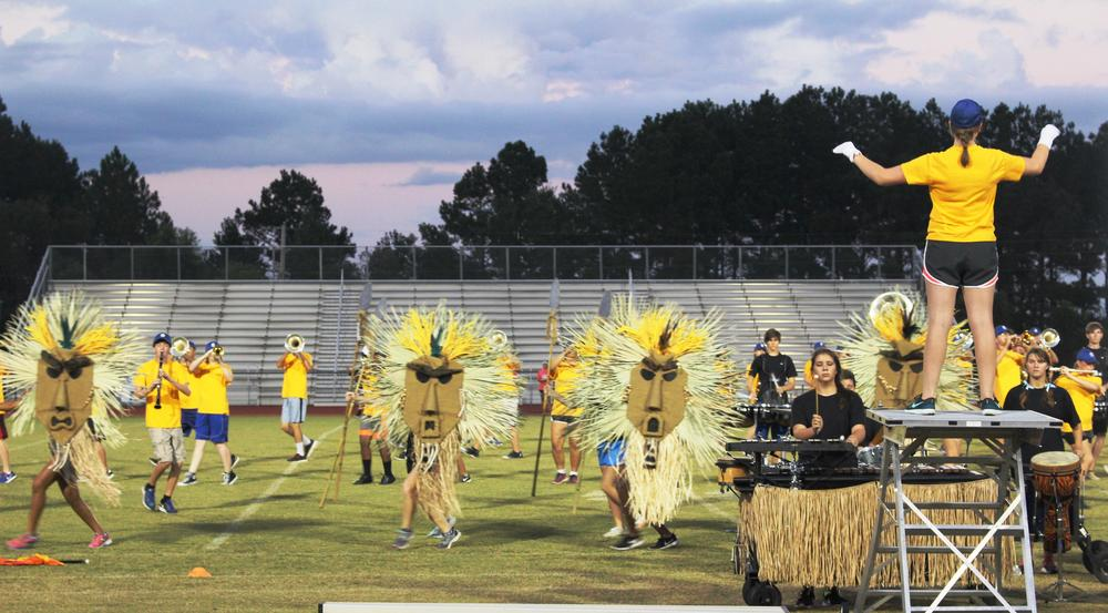 Southeast Bulloch High School s Marching Band, The Swarm