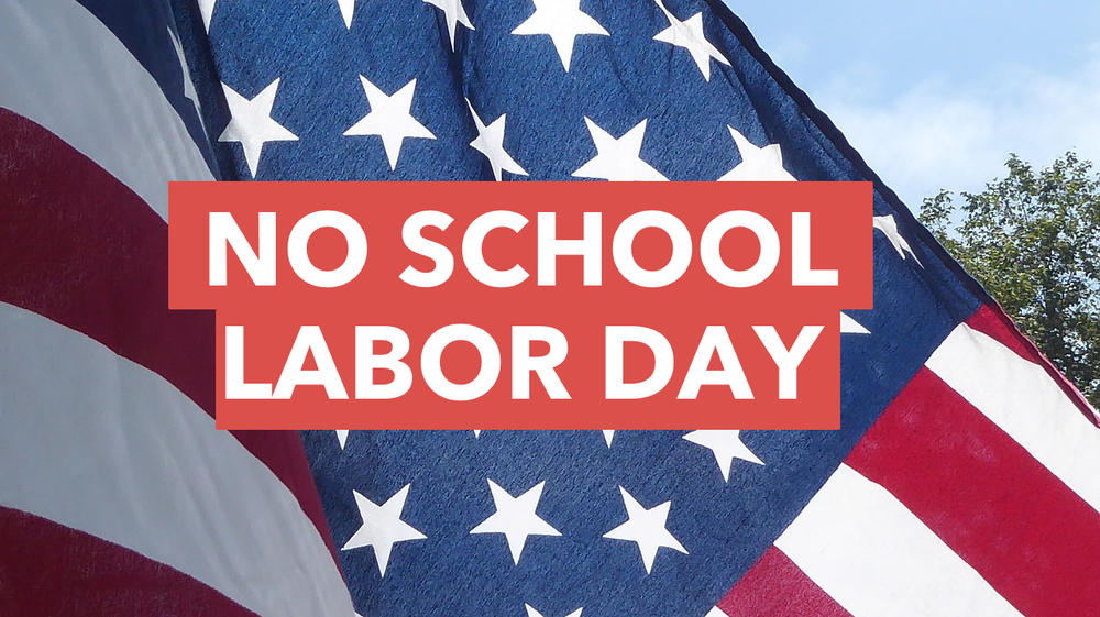 Labor Day Holiday Graphic