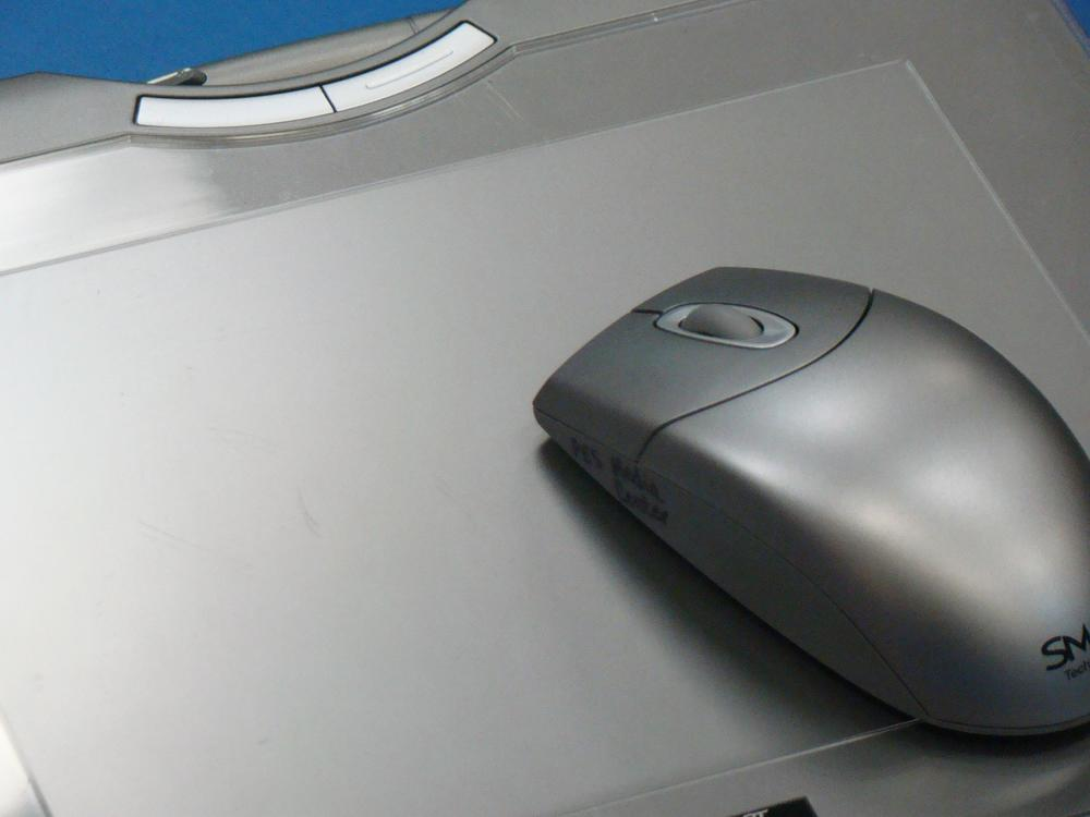 Graphic of a laptop and mouse