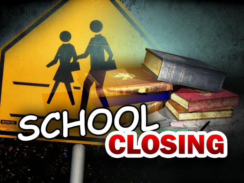 School Closing Graphic