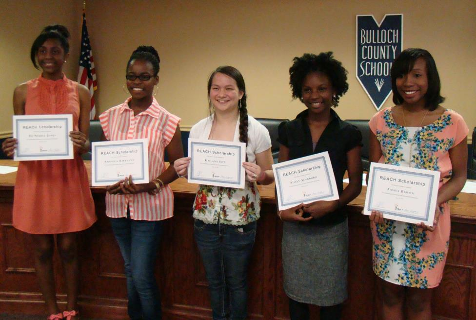 First cohort of REACH GA Scholars in 2013