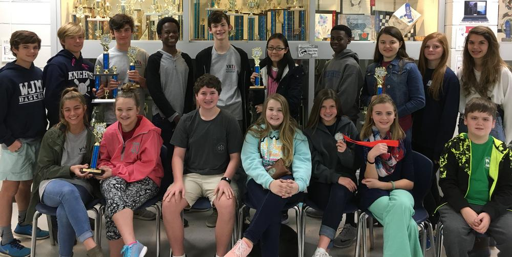 Region Science   Engineering Fair Award Winners from William James Middle School