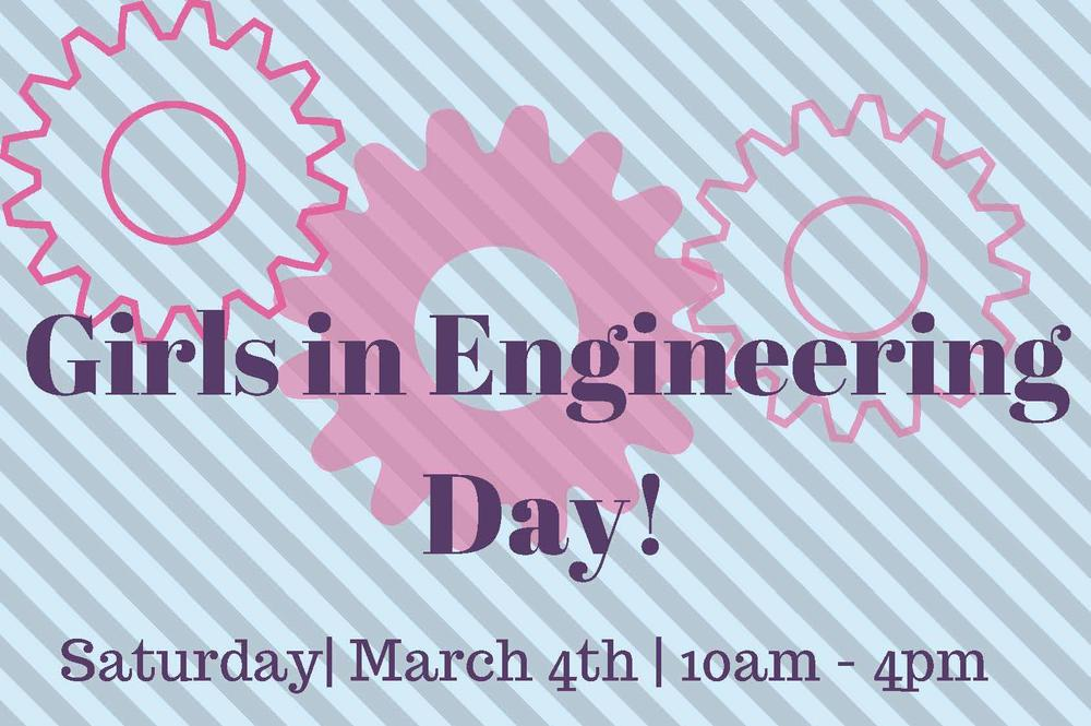 Girls in Engineering Flyer