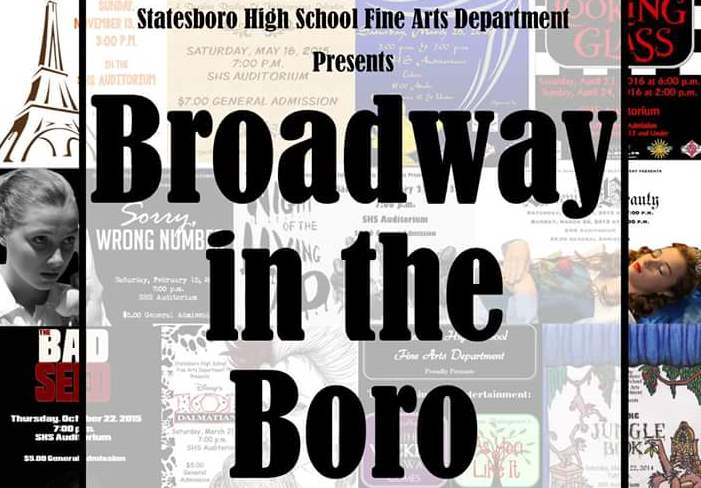 Broadway in the Boro Graphic