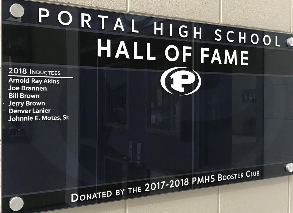 Portal Hall of Fame sign