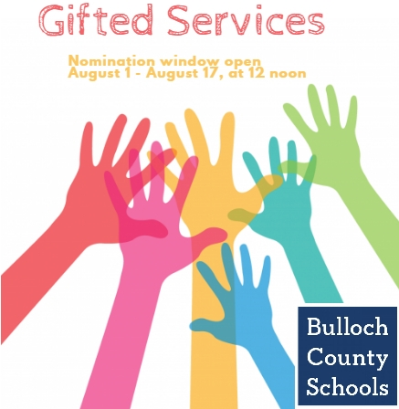 Gifted Services nomination graphic