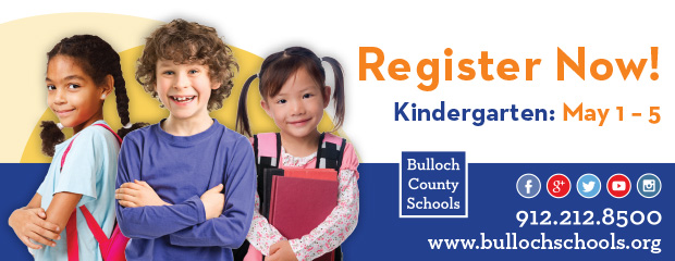 Kindergarten Registration advertisement