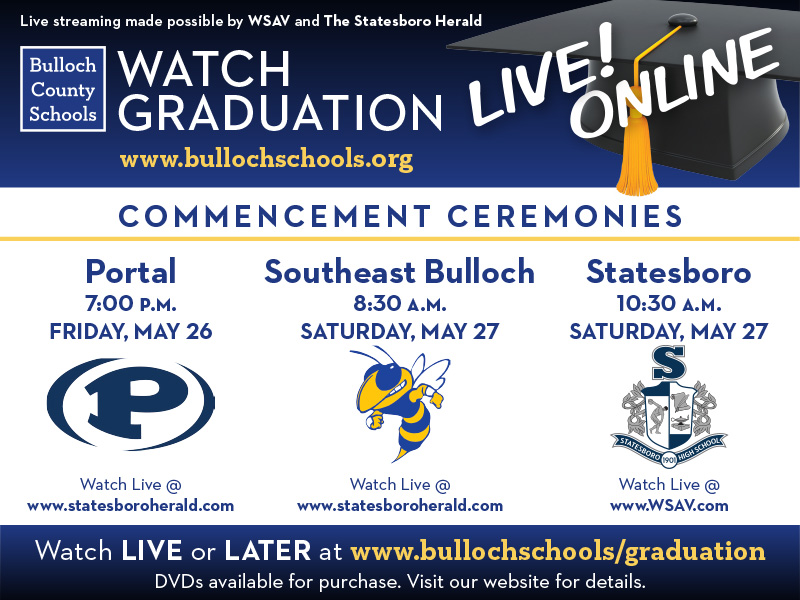 Graduation Live Streaming Ad