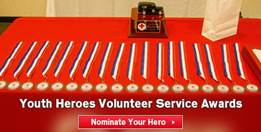 Youth Heroes Volunteer Service Awards
