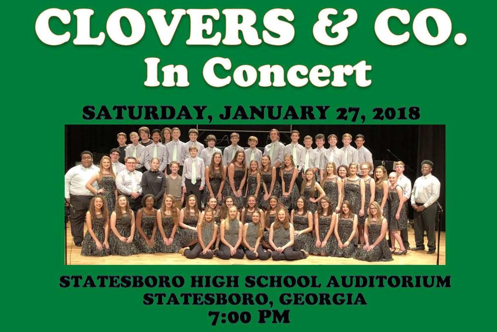 Clovers   Co Concert Flyer