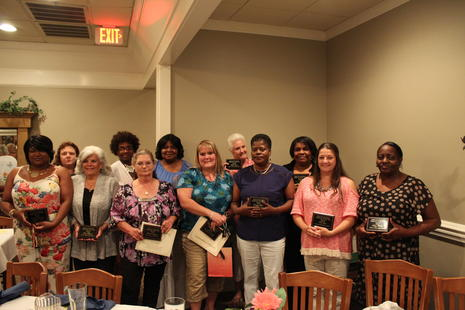 2014-2015 School Nutrition Employees of the Year