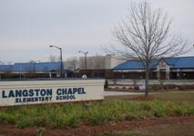 Langston Chapel Elementary Sign View.JPG